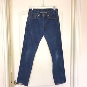 Limited Edition Vintage Levi's Tailored 505 Jeans